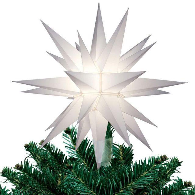 Elf Logic Bethlehem Moravian Star Christmas Tree Topper